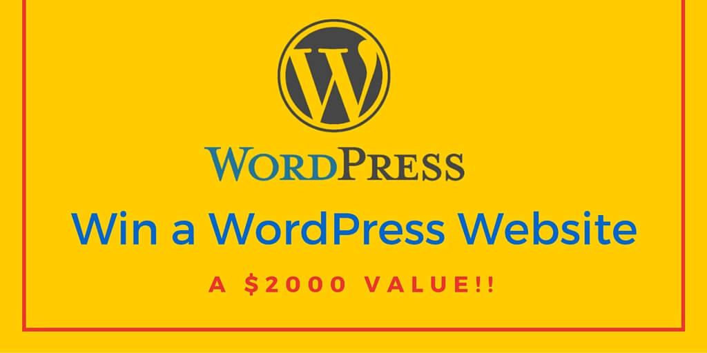 Win a WordPress WebsiteV2