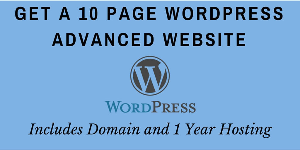 WordPress Advanced Website banner