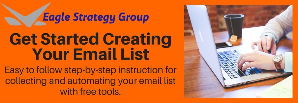Getting Started Creating Your Email List