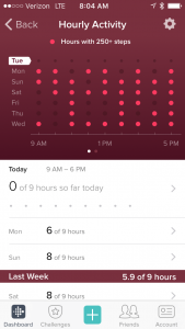 pomodora technique fitbit activity