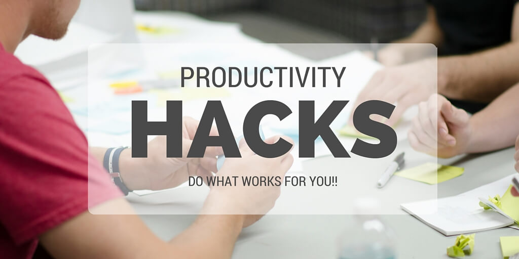 Productivity Hacking - What Works for You?