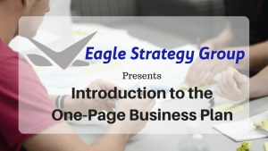 introduction one page business plan