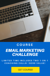 email marketing challenge course